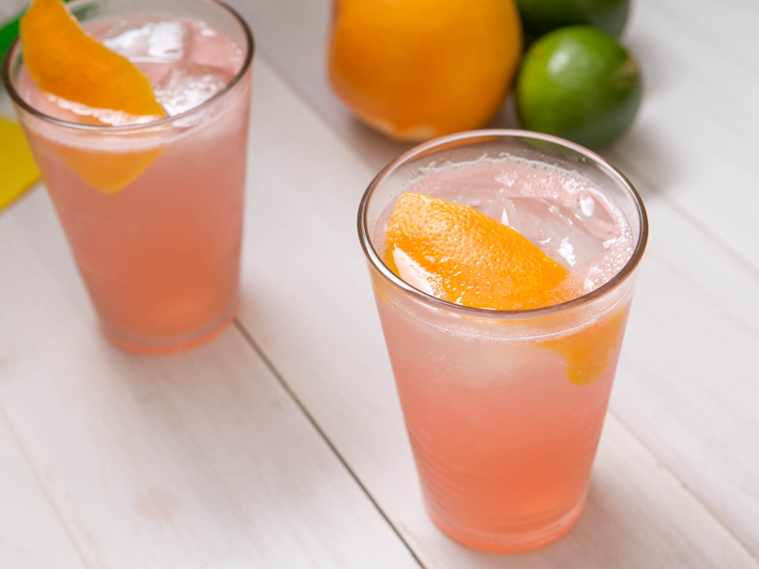 upgraded Paloma cocktail, tequila